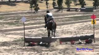 230XC Sara Mittleider On Hurricane Hannah Intro Cross Country Galway Downs May 2015