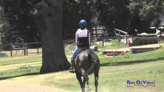 125XC Madeline Blinoff On Ranger JR Training Cross Country Shepherd Ranch June 2015