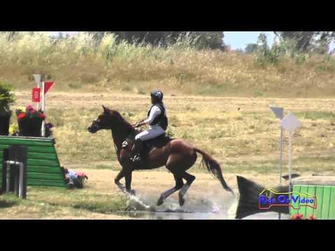 110XC Susan Roehl On Playing Hooky Open Novice Cross Country FCHP April 2016