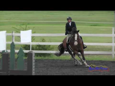 170S Debra Sween On Wellington SR Novice Show Jumping Spokane Sport Horse HT May 2016