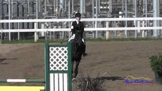 251S Julia Lathrop on J'adore YR Beginner Novice Show Jumping FCHP February 2015