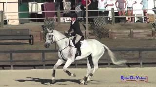 010S Maddy Mazzola on Mojito CIC3* Show Jumping Woodside Int'l Event Oct 2014