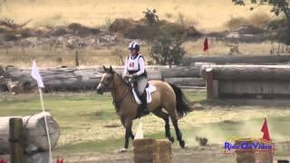 060XC Angela Mitchell on Nova Senior Novice Rider Cross Country Shepherd Ranch August 2014