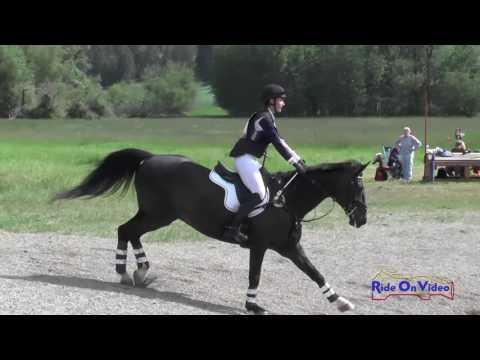 241XC Ryley Siclair On Athens JR/YR Training Cross Country Spokane Sport Horse HT May 2016