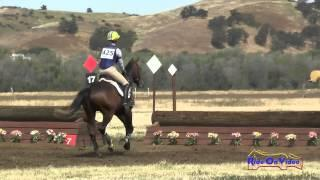 425J Jolie Wentworth on KF Peroni YEH 4Yr Old Jumping Twin Rivers Ranch April 2015