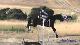 024XC Gina Miles on RF Scotland Yard Open Preliminary Cross Country Woodside August 2014