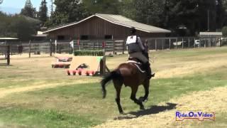 078XC Lauren McMahon On Dear John JR Beginner Novice Cross Country Shepherd Ranch August 2015