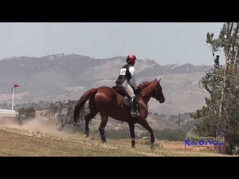 143XC Laura Borghesani Open Beginner Novice Cross Country Shepherd Ranch June 2016