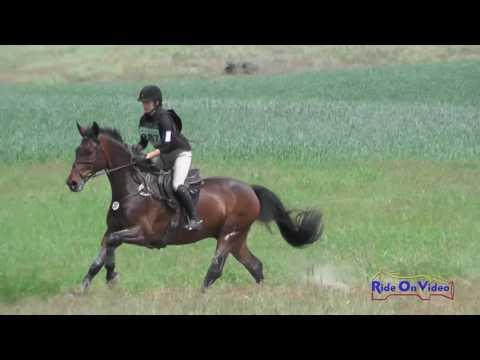 287XC Kiera Carter On Corinthoz JR/YR Preliminary Cross Country Spokane Sport Horse HT May 2016