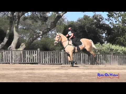 143XC Haley Turner On Orion's Sweet Rubio JR Training Cross Country Woodside Oct 2015