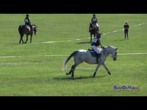 057XC Michele Smith On Ivan T Beginner Novice Cross Country Colorado Horse Park June 2016
