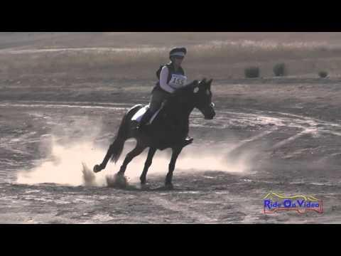 155XC Christine Poulos On Carra Clover Princess SR Training Cross Country Woodside Oct 2015