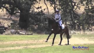 019XC Jessie Hargrave on Regenmann Open Training Cross Country Shepherd Ranch August 2014