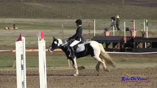 322S Emilia Moore on Princess Grace of Monaco Intro Show Jumping Twin Rivers Ranch March 2018