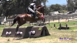 249XC Becky Leisz On Calvin Clyde Open Beginner Novice Cross Country Shepherd Ranch June 2015