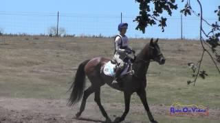 241XC Caitlin Davison On My Pilot Open Beginner Novice Cross Country Shepherd Ranch June 2015