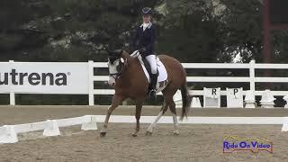 231D Caitlyn Ruud on Top Gun Tess Beginner Novice Horse Dressage USEA AEC August 2018