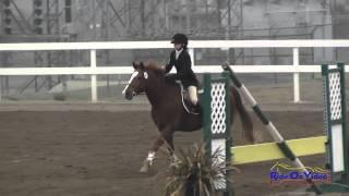 162S McKenna Goodson on Enchanted JR Beginner Novice Show Jumping FCHP November 2014