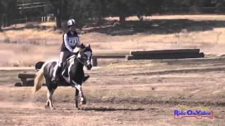 413XC Kaitlin Vosseller Area VI Champs Novice Rider Cross Country Woodside Int'l Event Oct 2014