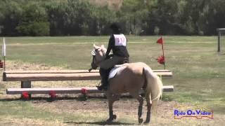 117XC Emilee Fine On Gracie Intro Cross Country Shepherd Ranch August 2015