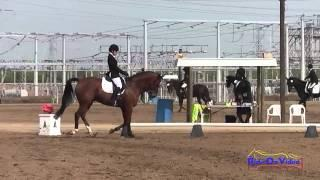 018D Maddy Mazzola Open Preliminary Dressage Fresno County Horse Park Oct 2014