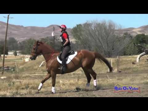 397XC Laura Anders On Magoo SR Beginner Novice Cross Country Twin Rivers Ranch April 2016