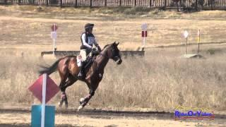 053XC Ruth Bley on Rodrigue Du Granit CIC1* Cross Country Woodside Int'l Event Oct 2014