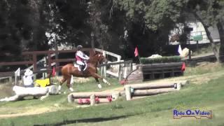 081XC Taren Atkinson On Gustav Open Preliminary Cross Country Shepherd Ranch June 2015