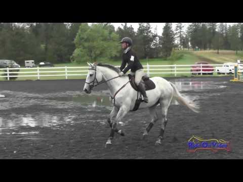 248S Kylan Maki On Fiat JR/YR Training Show Jumping Spokane Sport Horse HT May 2016