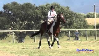 281XC Carole Lieberman On Gimli Intro Cross Country Shepherd Ranch June 2015