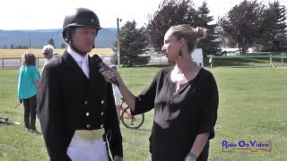 Rebecca Farm Day 3 Coverage Dressage and Cross Country July 24, 2015