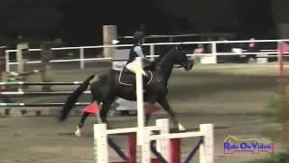 093E1 Tayler Ravenscroft on First Field Training Eventing Pacific Indoor Eventing October 2014
