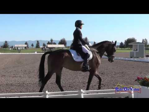 054D Barb Crabo On Over Easy CCI2* Dressage Rebecca Farm July 2015