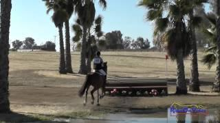 048XC Jennifer Salinger on Sabrina YR Training Cross Country FCHP April 2015