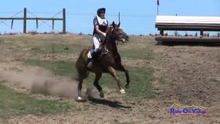 115XC Madeline Sexton On Celtic Star Open Training Cross Country Shepherd Ranch June 2015