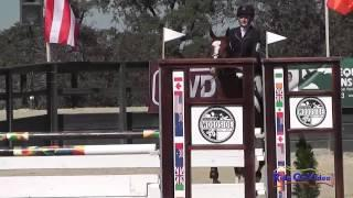 032S Leigh Mesher on Revolutionist CIC1* Show Jumping Woodside Int'l Event Oct 2014