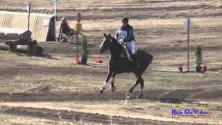 230XC Haley Provencher on Locked and Loaded JR Novice Cross Country Woodside Int'l Event Oct 2014