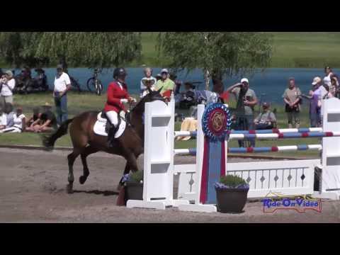 098S Hawley Bennett Awad On Jollybo CCI3* Show Jumping Rebecca Farm July 2016
