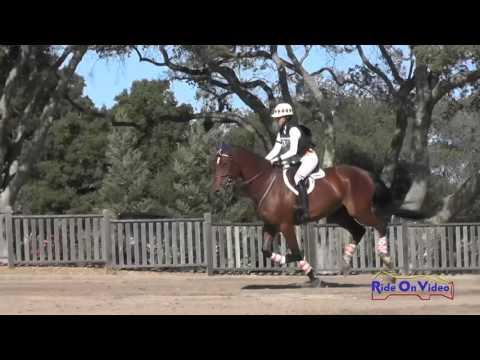 133XC Lisa Takada On Walter Ego JR Training Cross Country Woodside Oct 2015