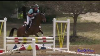 430J Earl McFall on Tropic Star YEH 4Yr Old Jumping Twin Rivers Ranch April 2015