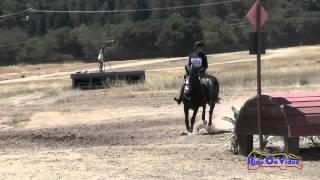 323XC Tomi Owens On Hs Balou SR Beginner Novice Cross Country Woodside August 2015