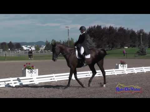 060D Katie Yozamp On Wishbone CCI2* Dressage Rebecca Farm July 2016