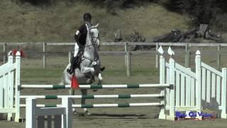 047S Allana Baker On Cursive JR Novice Show Jumping Shepherd Ranch August 2015
