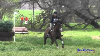 036XC Lauren Burnell on Counterpoint Intermediate Cross Country Twin Rivers Ranch Feb 2015