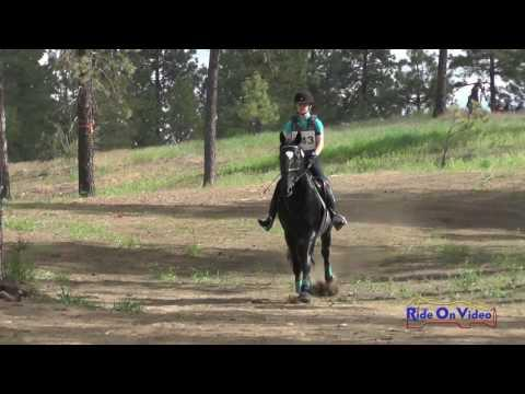 243XC Jenna Lounsbery On Kellican JR/YR Training Cross Country Spokane Sport Horse HT May 2016
