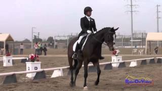 160D Bunnie Sexton on Phiero SR Open Beginner Novice Dressage Fresno County Horse Park Oct 2014