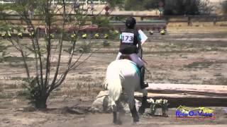 173XC Grace Pagliuso On Folklore Sean Crowley JR Beginner Novice Cross Country Galway Downs May 2015