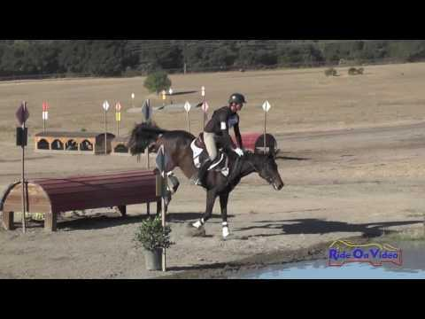 234XC Joseph McKinley On Ampersand Training Horse Cross Country Woodside October 2016