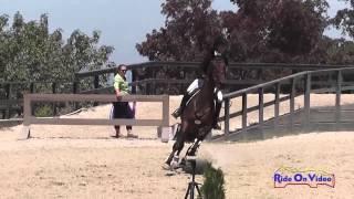 048S Kiera Carter on Corinthoz JR/YR Preliminary Show Jumping Woodside August 2014