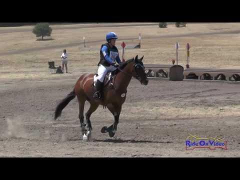 302XC Natalie Burk On Laced Sensation SR Beginner Novice Cross Country Woodside August 2016